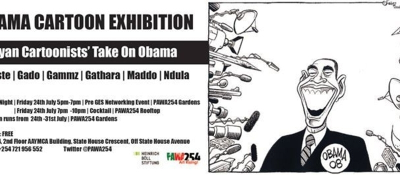 OBAMA CARTOON EXHIBITION | Kenyan Cartoonists' Take On Obama.