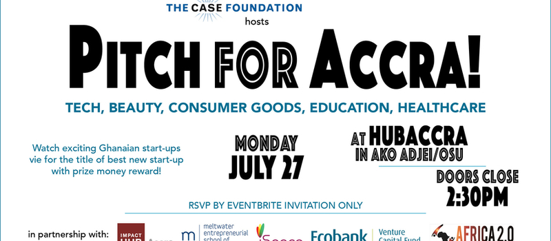 Pitch for Accra: Celebrating Exceptional Startups with the Case Foundation