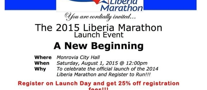 2015 Liberia Marathon Launch Event