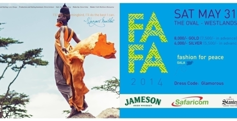 FAFA 2014 – Fashion For Peace Gala