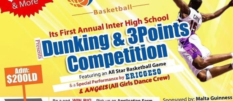 FLAMES BASKETBALL INTER HIGH SCHOOL DUNKING AND 3 POINTS COMPETITION
