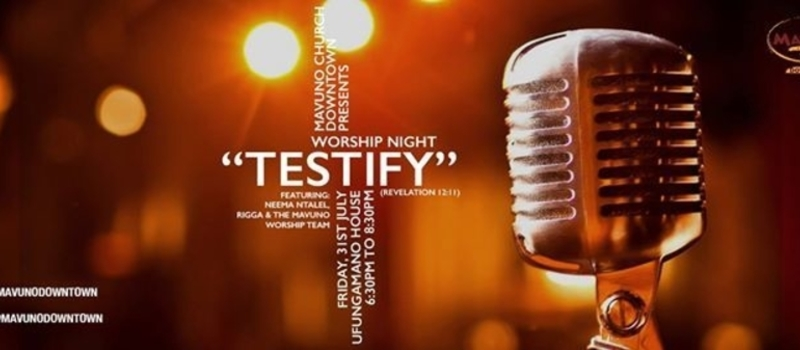 Worship Night : Testify (Revelation 12:11)