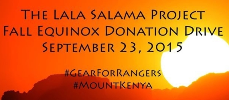 The Lala Salama Project's Fall Equinox Donation Drive