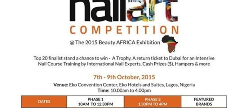 Africa's Nail Art Competition