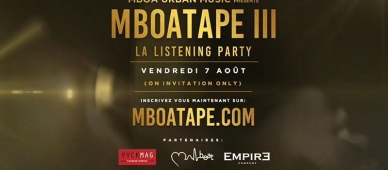 MBOA TAPE III - LISTENING PARTY