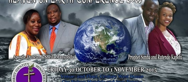 HEAVEN ON EARTH CONFERENCE 2015