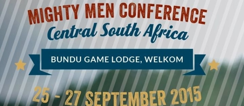 Mighty Men Conference Central South Africa - Bundu Game Lodge, Welkom