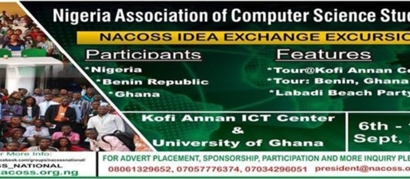 2015 NACOSS IDEA EXCHANGE EXCURSION TO GHANA