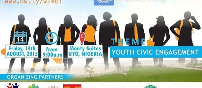 2015 International Youth Day Conference, Uyo, Nigeria
