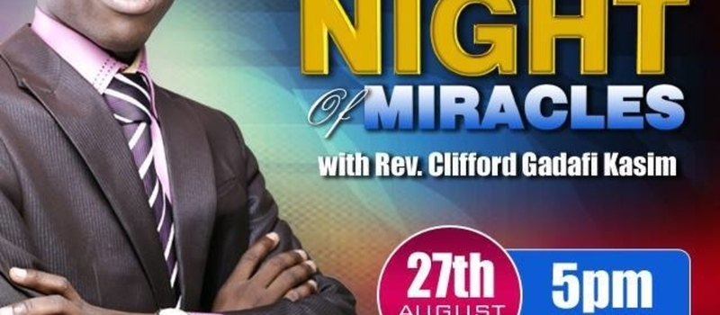 NIGHT OF MIRACLES WITH REV CLIFFORD