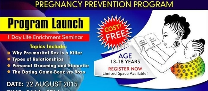 Launch Keila Teenage Girls Pregnancy Prevention Program