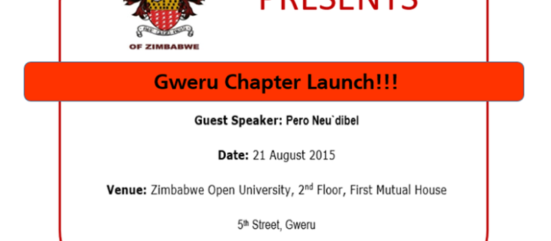 Gweru Chapter Launch