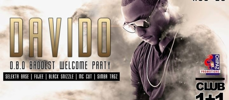 DAVIDO OFFICIAL WELCOME PARTY