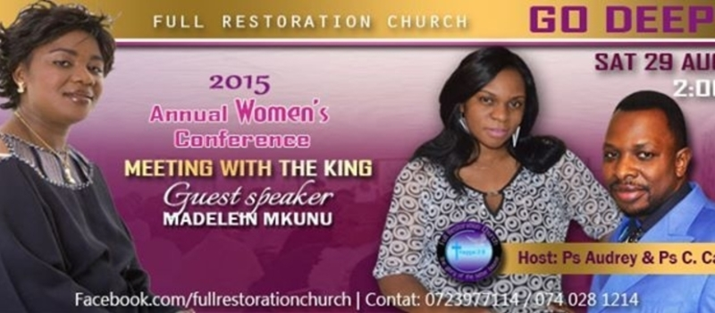 GO DEEPER WOMEN CONFERENCE