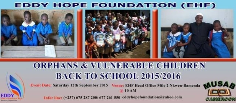 Orphans & Vulnerable Children 2015 Back to School