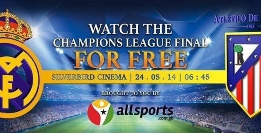 Champions' League 2014 Final at Silverbird Cinema
