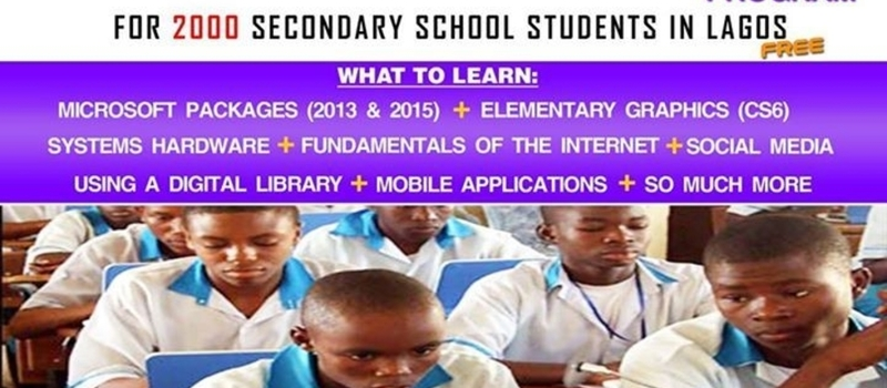 1 DAY ICT SKILL ACQUISITION PROGRAM FOR SECONDARY SCHOOL STUDENTS