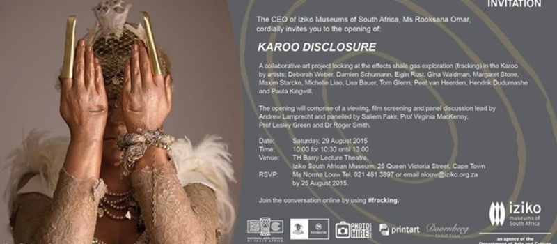 Karoo Disclosure Exhibition and Discussion panel