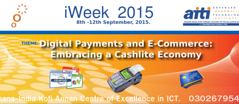 iWeek2015: 5 Days Seminars on Digital Payments and E-Commerce-