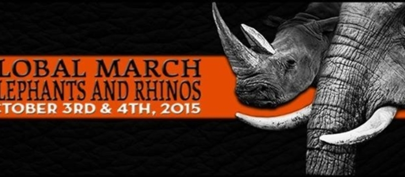 GLOBAL MARCH FOR ELEPHANTS AND RHINO'S, NAIROBI, 2015