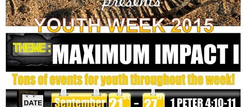 IKEJA YOUTH WEEK 2015