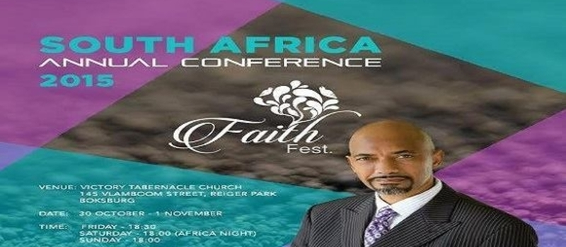 South Africa Annual Faith Fest Conference 2015