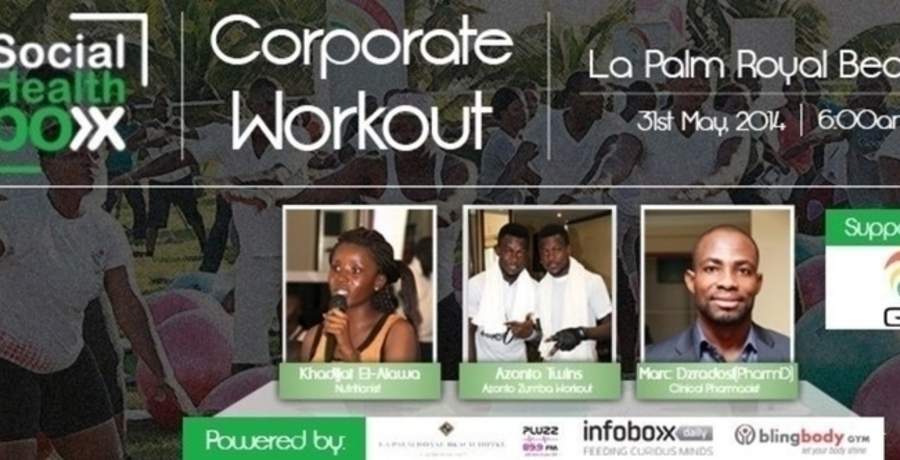 4th Social HealthBoxx Corporate Workout