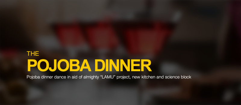 The Pojoba Dinner 2014