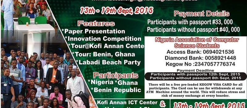 INVITATION TO PARTICIPATE IN NACOSS IDEA EXCHANGE EXCURSION TO GHANA