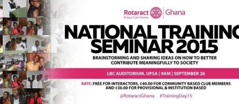 Rotaract Ghana, National Training Seminar 2015