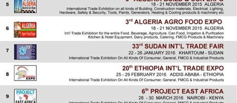 12th Ethiopia Build & Con Expo 17-23 September 2015
