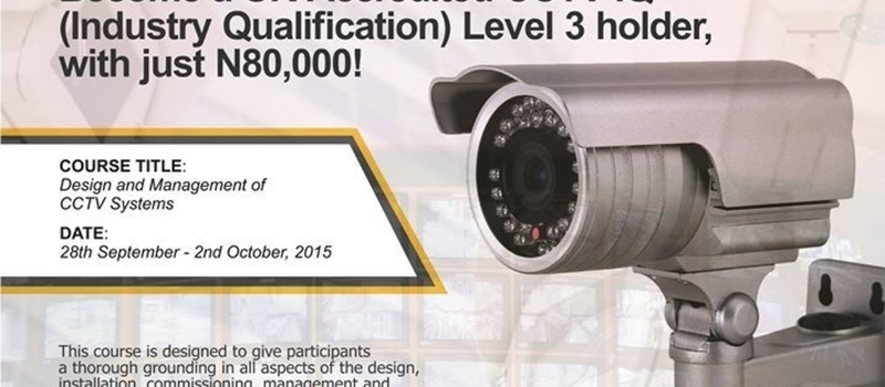 Certified UK-accredited CCTV IQ Level3 Training