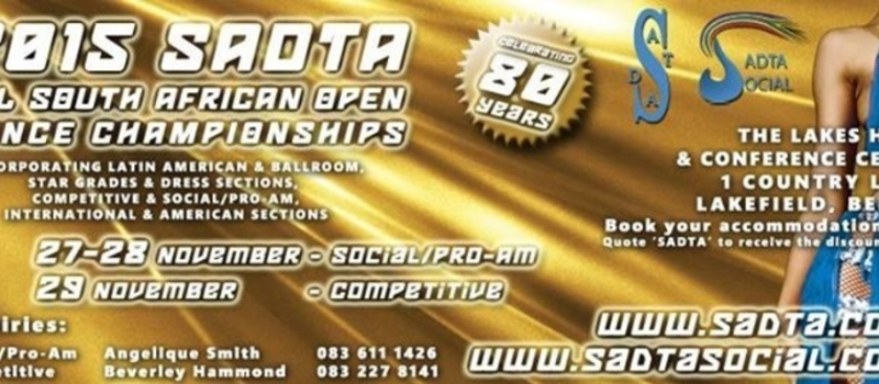 2015 SADTA All South African Open Championships