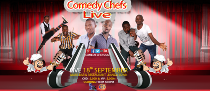 Comedy Chefs Live Weekly Show