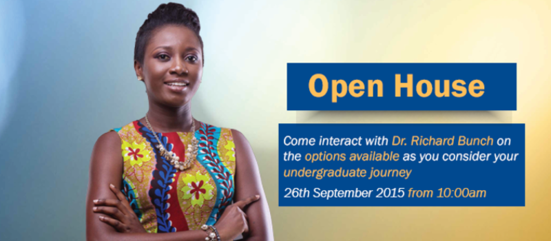 Webster University Ghana Open House Event, Accra