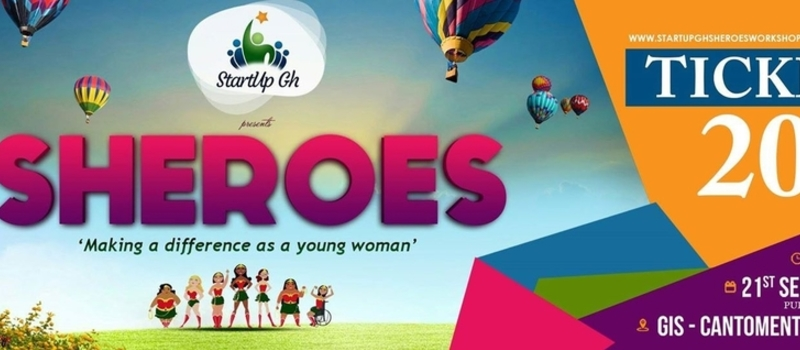 StartupGH Sheroes Workshop