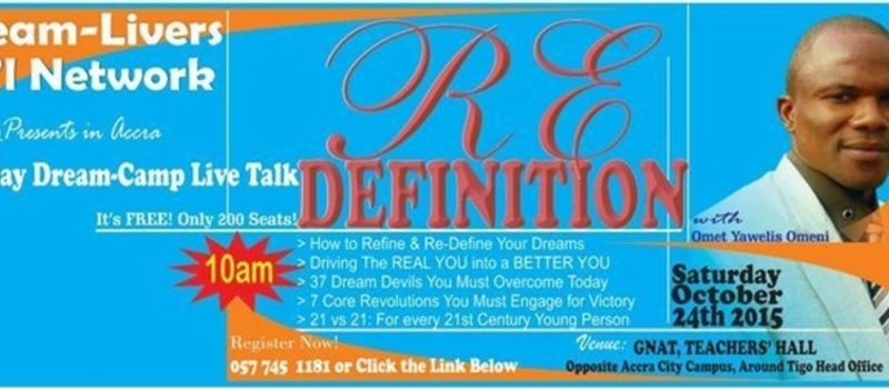 RE-DEFINITION Live Talk 2015