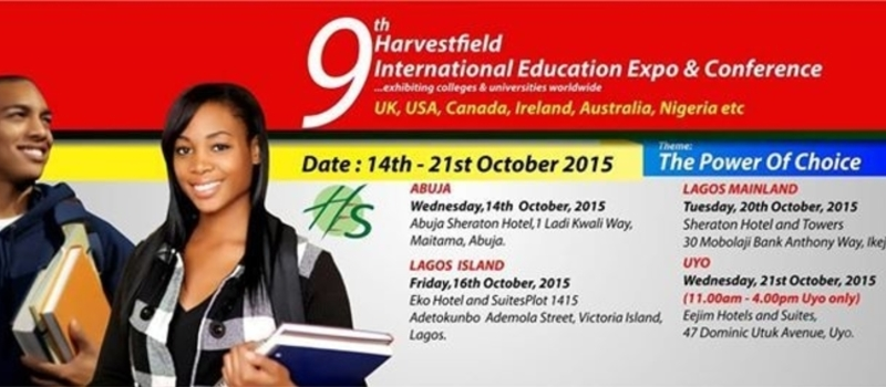 9th Harvestfield International Education Expo & Conference