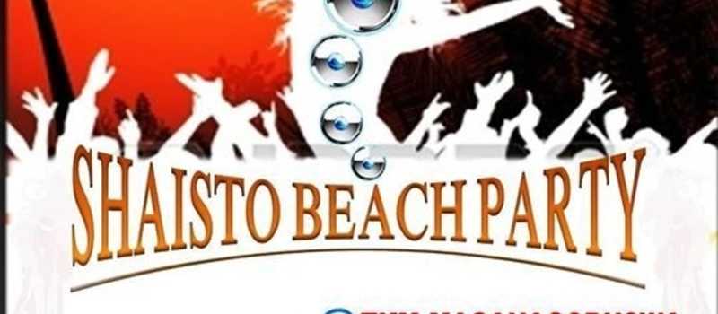 SHAISTO BEACH PARTY