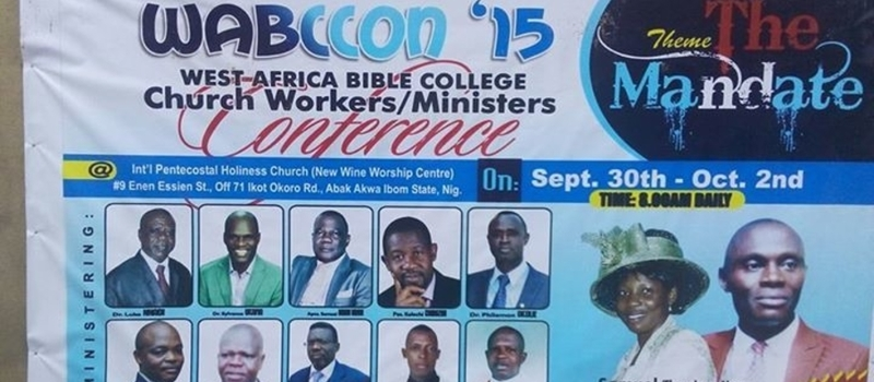 West Africa Bible College Ministers'/ Church Workers' Conference (WABCCON)