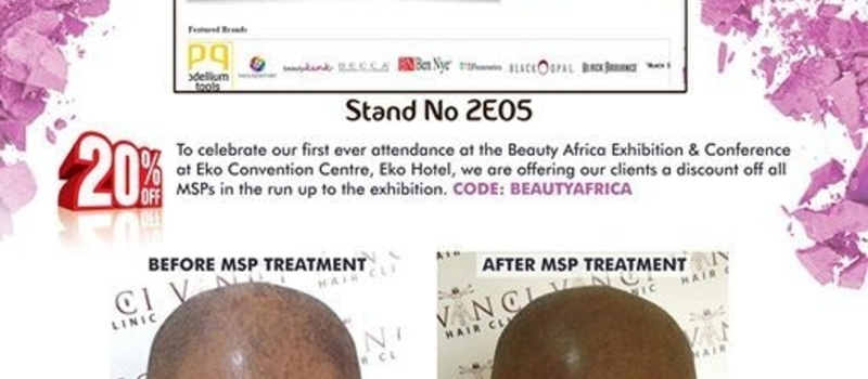 Vinici Hair Clinic Master Classes at the Beauty Africa Exhibition & Conference