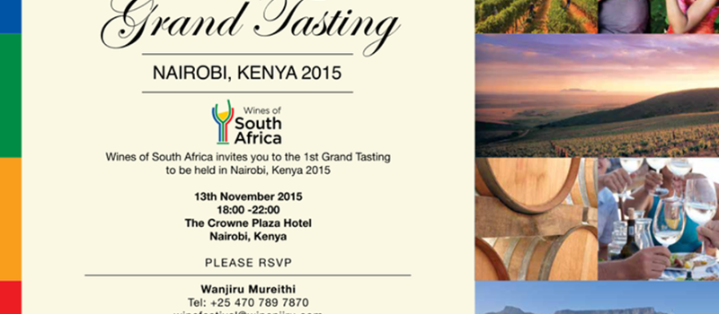 Wines of South Africa Grand Tasting Nairobi 2015