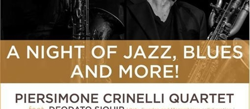 A NIGHT OF JAZZ, BLUES AND MORE!!!!!!!!!!!!!!!!!!!!!!!!!