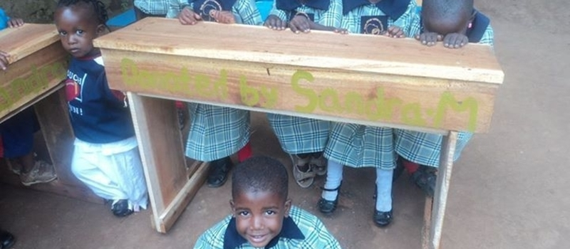 Buy an Ironsheet for Smile Africa Orphaned School
