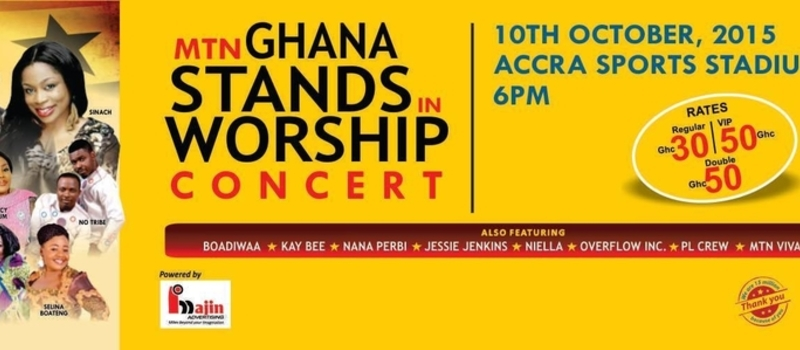 MTN Ghana Stands in Worship Concert