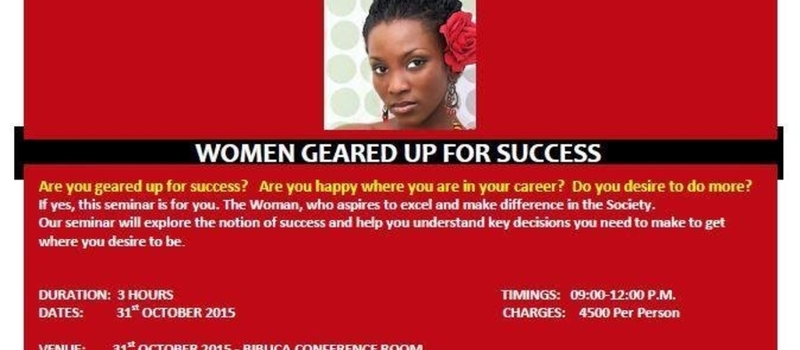 Women Geared Up For Success