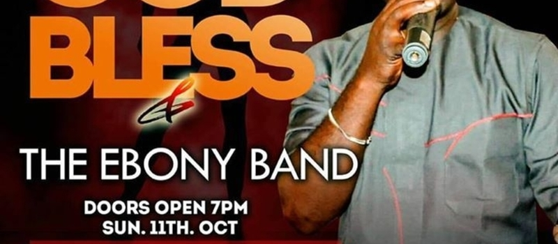 GOD BLESS & THE EBONI BAND LIVE @ARAMIS LEKKI PHASE 1