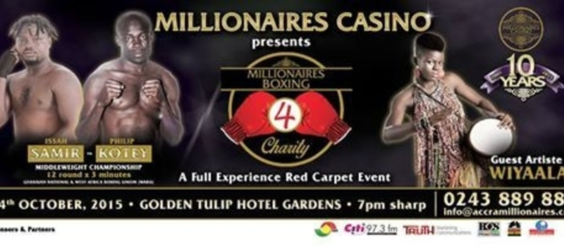 Millionaires Boxing 4 Charity