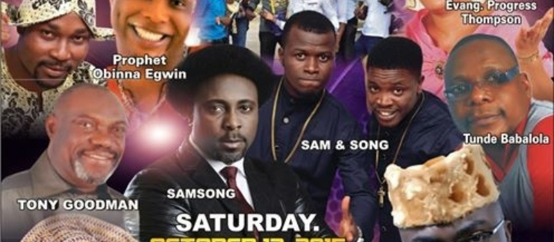 UPL Events Gospel Charity Musical & Comedy Concert 2015