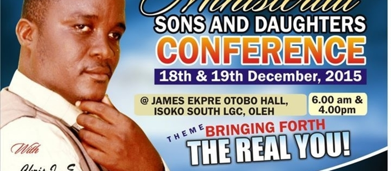 Ministerial Sons and Daughters Conference